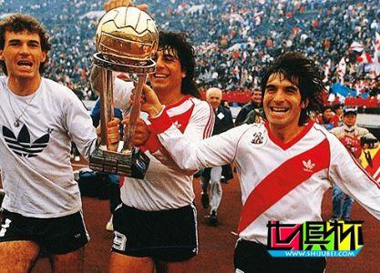 1986年12月14日阿根廷河床队1比0小胜罗马尼亚布加勒斯特星队