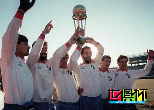 1988年12月11日乌拉圭民族点球大战7比6险胜荷兰埃因霍温 埃因霍温 荷兰 点球大战 民族队 乌拉圭 1988 丰田杯  第1张