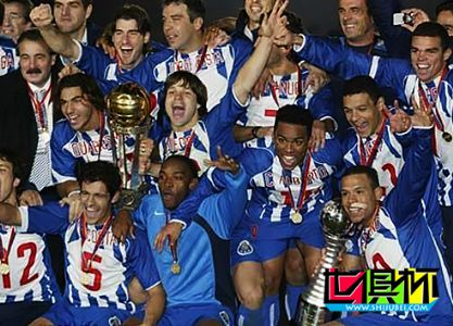 2004年12月12日最后一届丰田杯波尔图队点球8比7击败卡尔达斯队