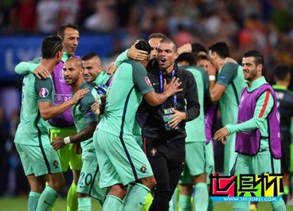 2016年7月7日葡萄牙2-0战胜威尔士晋级欧洲杯决赛