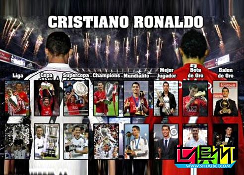 2014世俱杯一张图告诉你C罗有多可怕 全世界只有他做到了