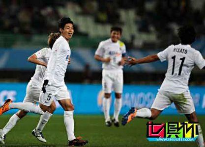 世俱杯-广岛三箭3-0非洲冠军 半决赛将对阵河床
