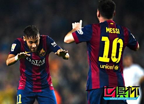 2015世俱杯:巴萨公布23人名单 内少带伤出征+MSN集结