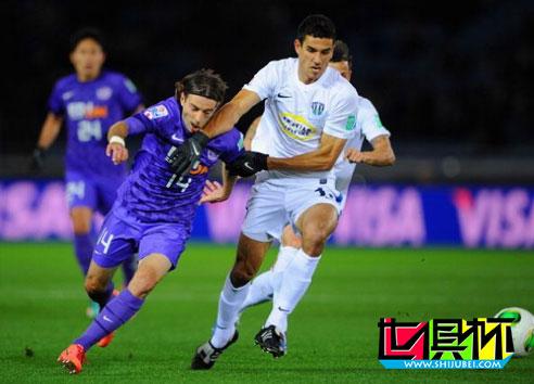2012年世俱杯-铁腰入世界波 广岛三箭1-0淘汰奥克兰城