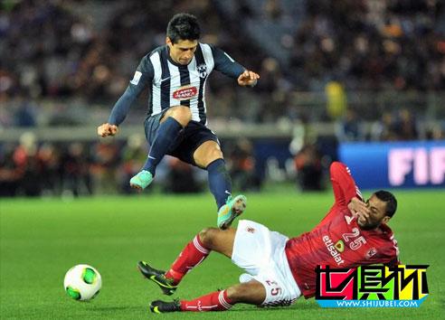 2012世俱杯-前里昂前锋破门 蒙特雷2-0阿赫利获季军