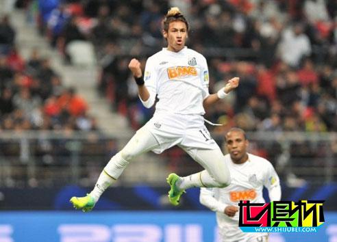 2011内马尔亮相世俱杯PK梅西 主帅:梅西第一他第三