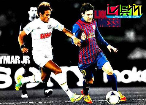 2011世俱杯决赛内马尔PK梅西 演足球未来与现在之争-第1张图片-世俱杯