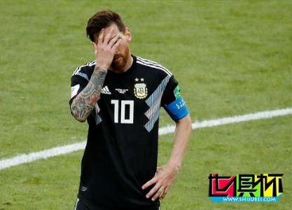 2018世界杯-梅西失点阿根廷战平冰岛,阿圭罗进球破荒