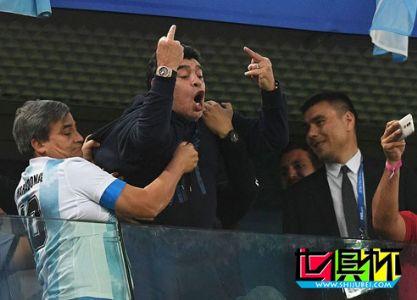 2018世界杯,马拉多纳道歉:情绪有些失控 应该尊重FIFA和裁判
