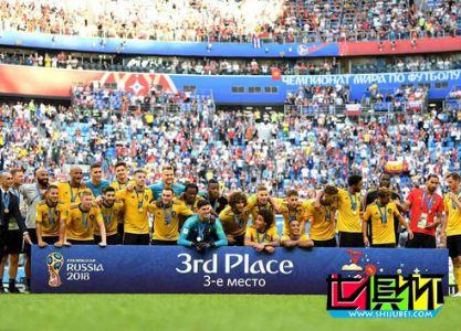 2018世界杯,比利时2-0英格兰获季军创历史最佳 阿扎尔破门