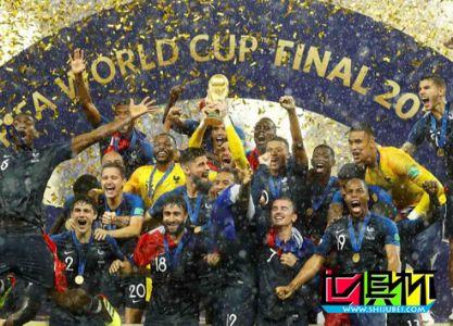 法国4-2克罗地亚 20年后再夺世界杯 姆巴佩格列兹曼破门