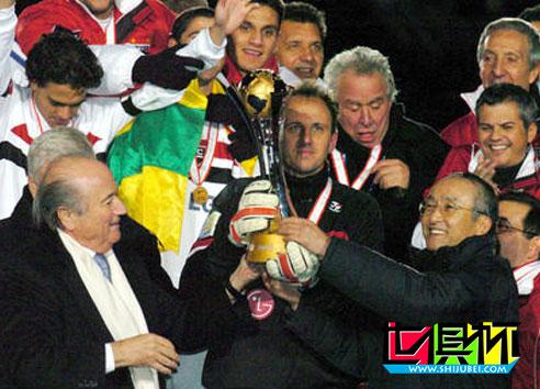 """2005世俱杯,只见功利心不见新人面 全是""""钱""""惹得祸"""