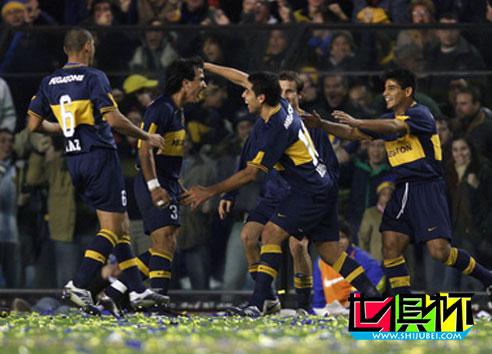 2007世俱杯阅兵:博卡联赛跌出前三名 外战寻找尊严