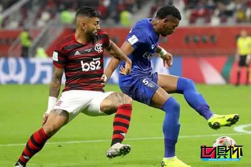 2019世俱杯首场半决赛,弗拉门戈3-1击败阿尔·希拉尔 成功晋级决赛