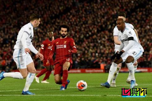 2019世俱杯冠军利物浦英超再赢4场提前夺冠,18连胜继续22分领跑