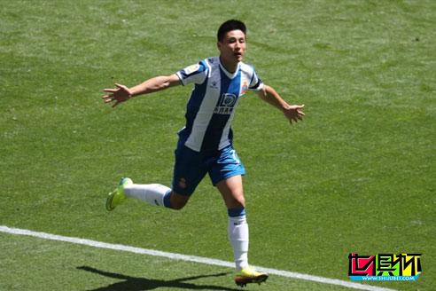 西甲复赛后武磊首发攻入一球,最终西班牙人主场2比0击败阿拉维斯