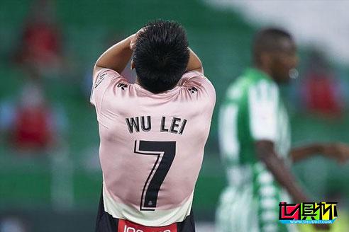 武磊原本有机会成为球队救世主,西班牙人步入降级倒计时