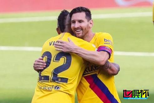 巴萨拿下3连胜,梅西送出联赛第20次助攻 接连缔造历史纪录