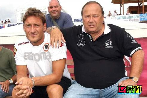 罗马传奇球星托蒂的父亲恩佐-托蒂在感染新冠后离世-第1张图片-世俱杯