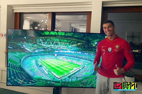 欧国联葡萄牙主场3:0大胜瑞典,C罗电视前晒照遥祝