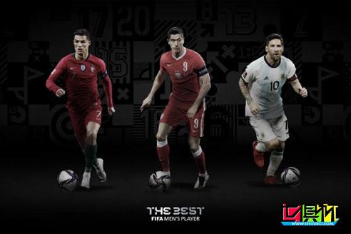 FIFA公布了2020年国际足联年度颁奖盛典各项大奖候选名单