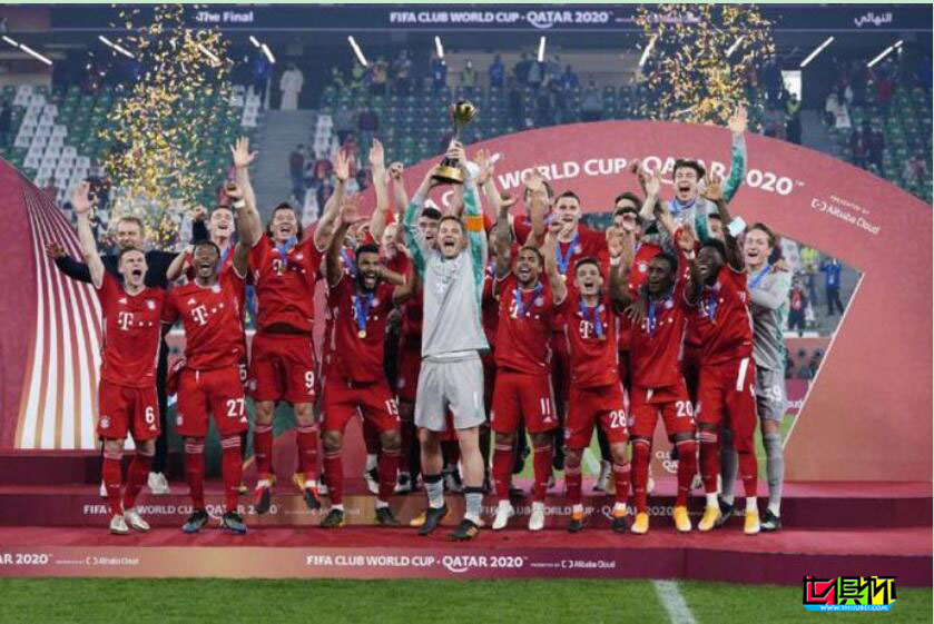 世俱杯 拜仁1-0老虎大学 加冕六冠王!