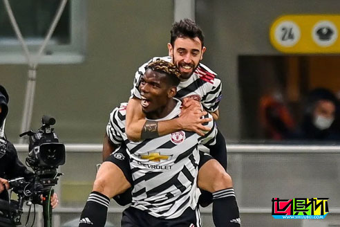 欧联杯米兰主场0-1不敌曼联遭淘汰,博格巴伤愈复出3分钟进球