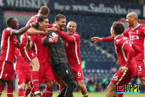 利物浦客场2-1绝杀西布朗,门将阿利松读秒头球破门创造历史