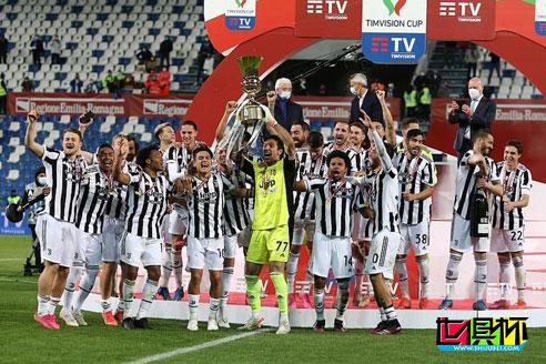 尤文夺得第14座意大利杯冠军,C罗创纪录,43岁布冯谢幕战