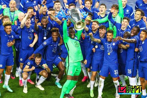 切尔西凭借哈弗茨单刀1-0战胜曼城,赢得队史第二座欧冠冠军