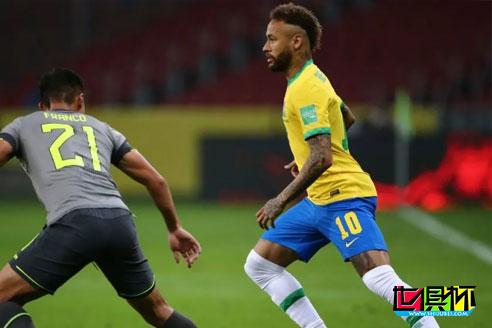 世预赛南美区巴西2-0击败厄瓜多尔,内马尔、理查利森破门