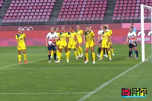 东京奥运女足1/4决赛,澳大利亚女足4-3淘汰英国女足晋级4强